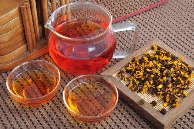野生的昆仑雪菊茶